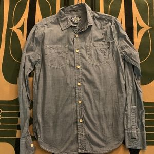 Light Grey Superdry Button Down